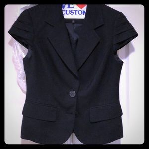 The Limited - cap sleeve suit jacket